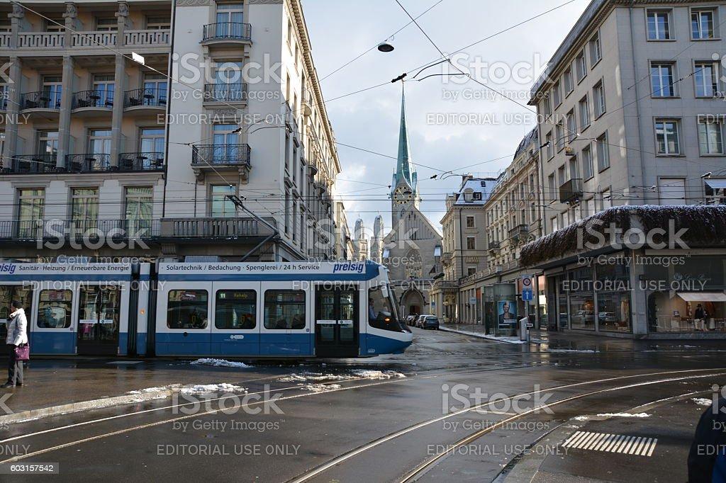 Paradeplatz stock photo