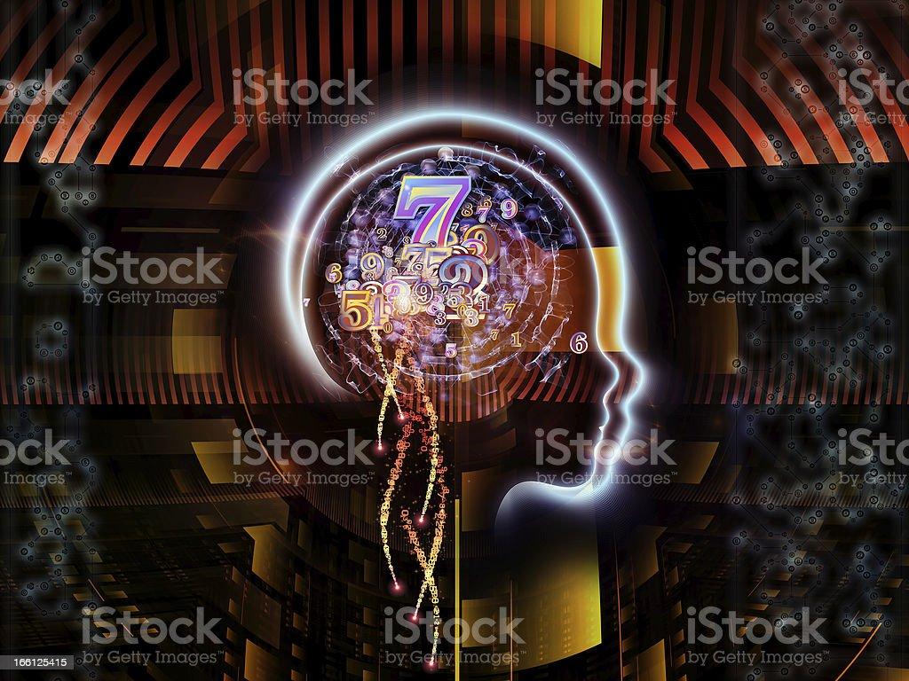 Paradigm of Human Technology royalty-free stock photo