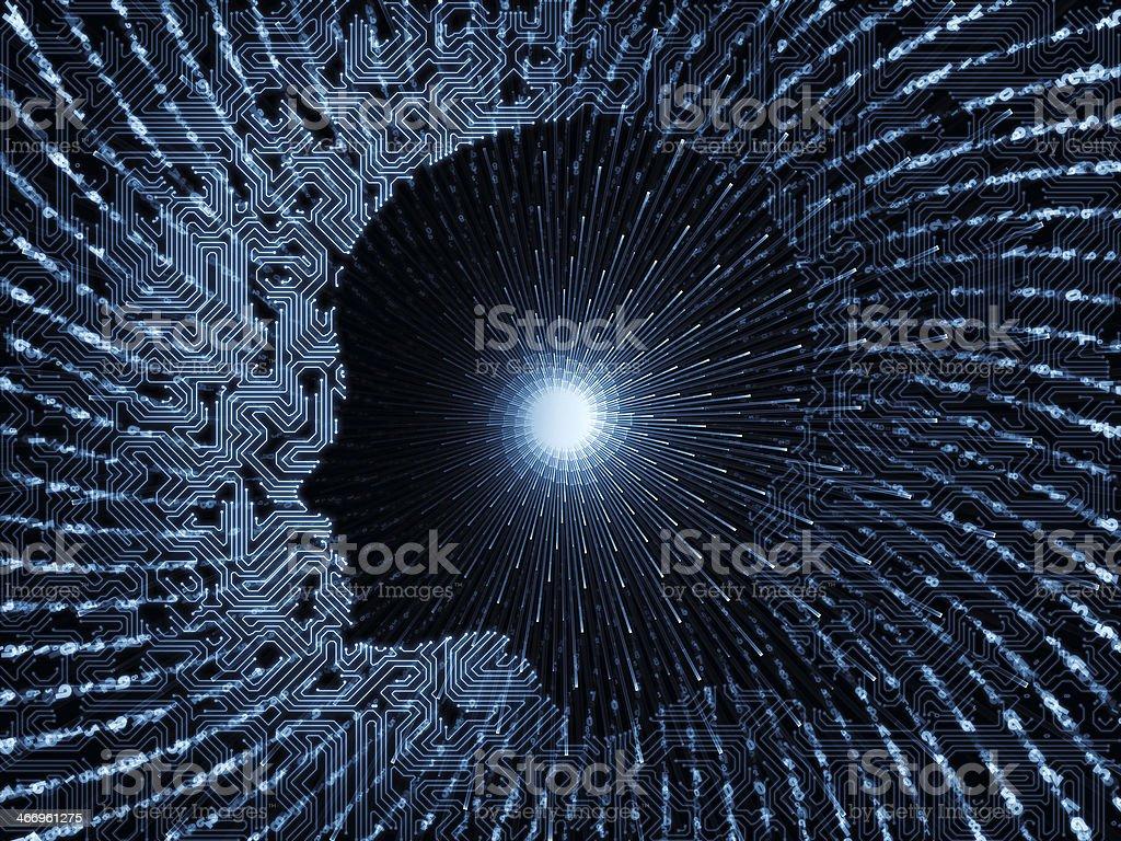 Paradigm of Intelligence stock photo