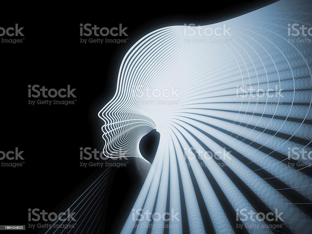 Paradigm of Soul Geometry royalty-free stock photo
