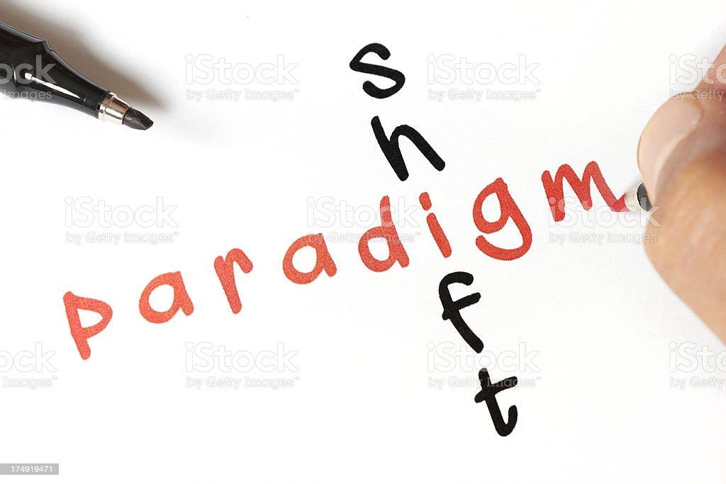 paradigm royalty-free stock photo