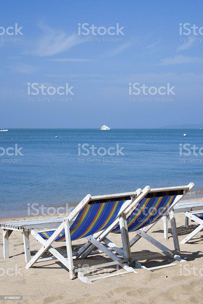 Paraíso de la playa en Tailandia foto de stock libre de derechos