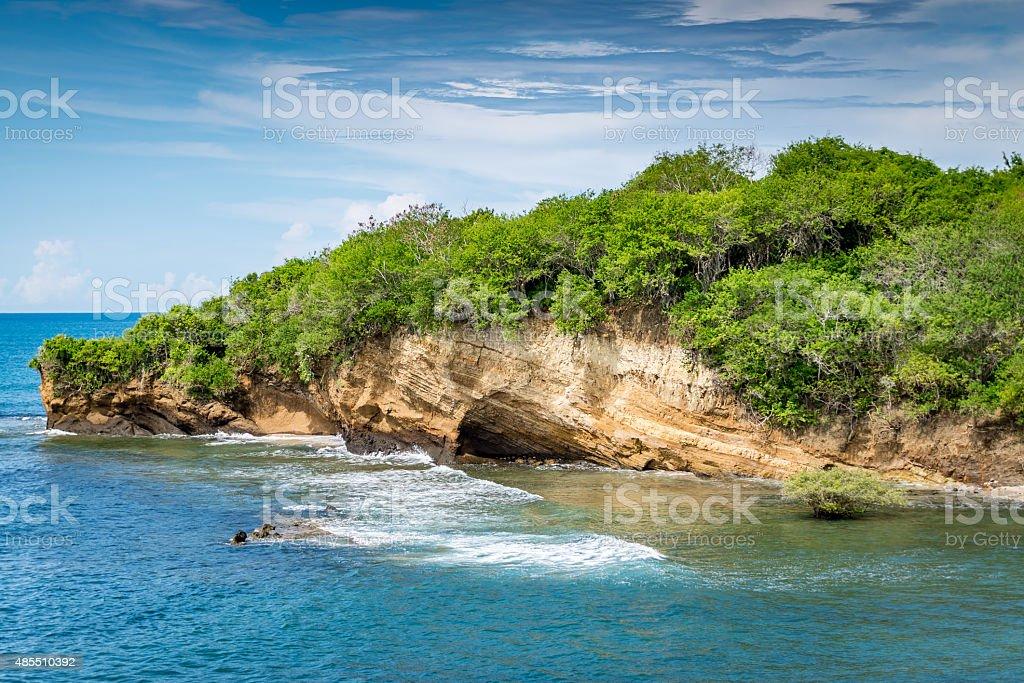 Paradise coves stock photo