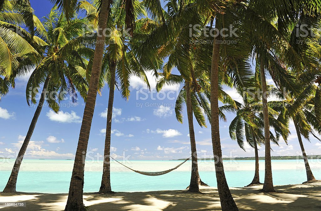 Paradise Destination stock photo