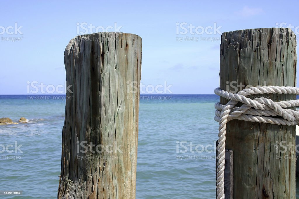 Paradise Dock royalty-free stock photo
