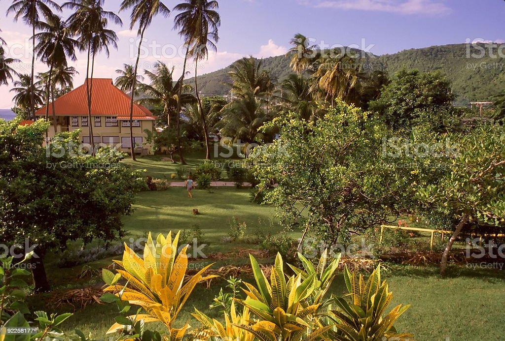 Le paradis trouvé photo libre de droits