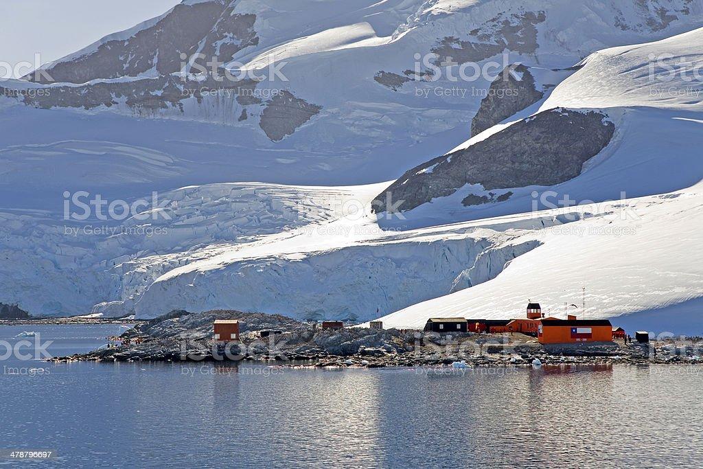 Paradise Harbor, Antarctica stock photo