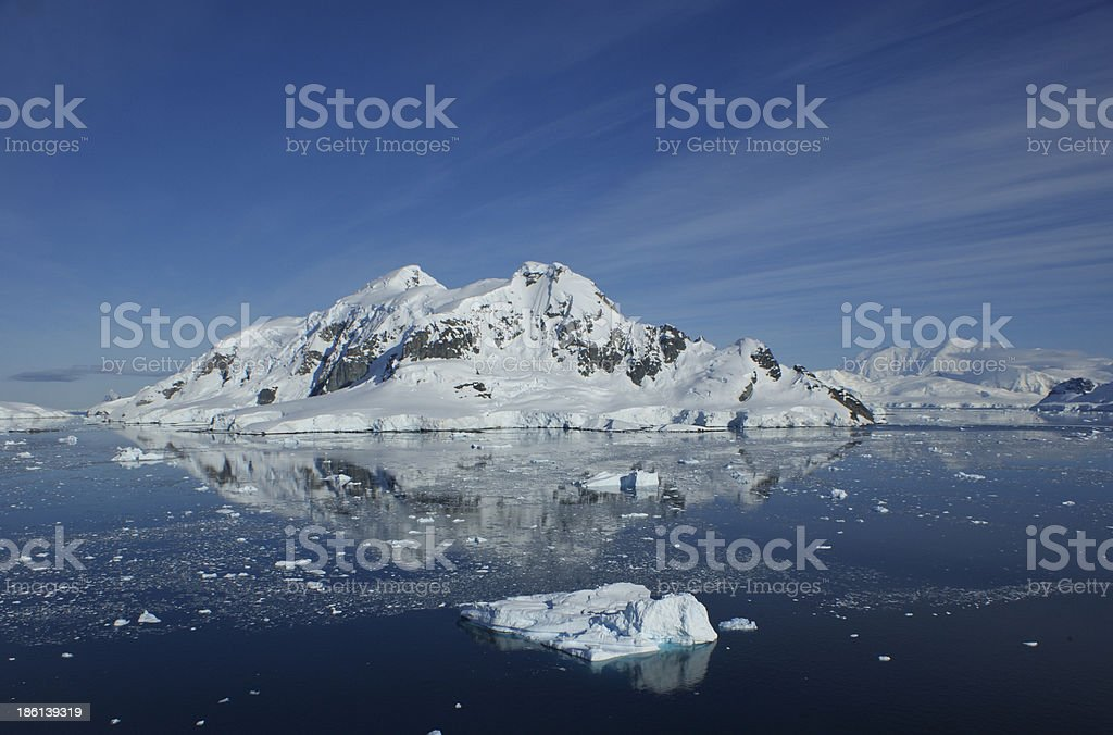 Paradise Harbour Antarctica royalty-free stock photo