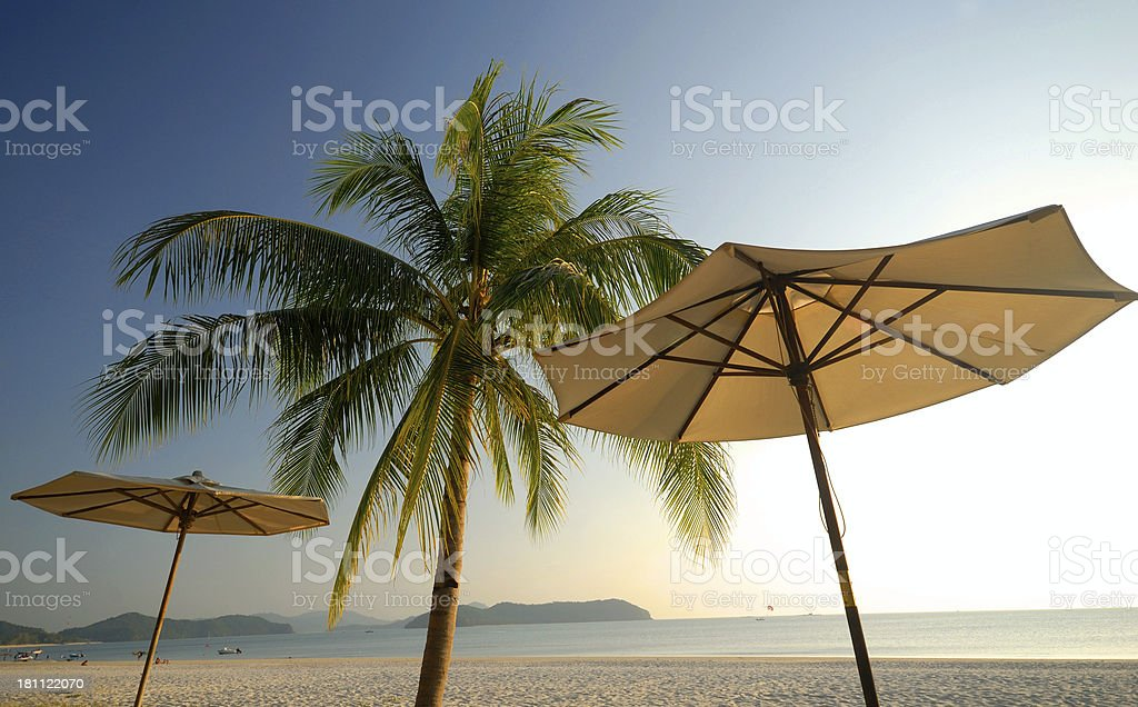 Paradise Holiday royalty-free stock photo