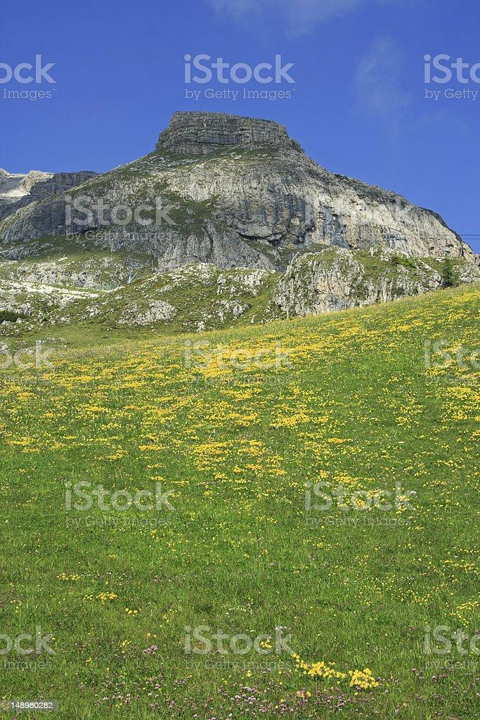 Paradise in mountain royalty-free stock photo