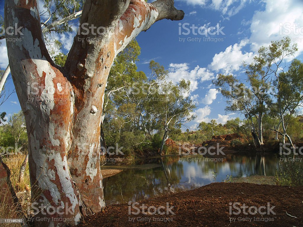 Paradise in the Outback stock photo