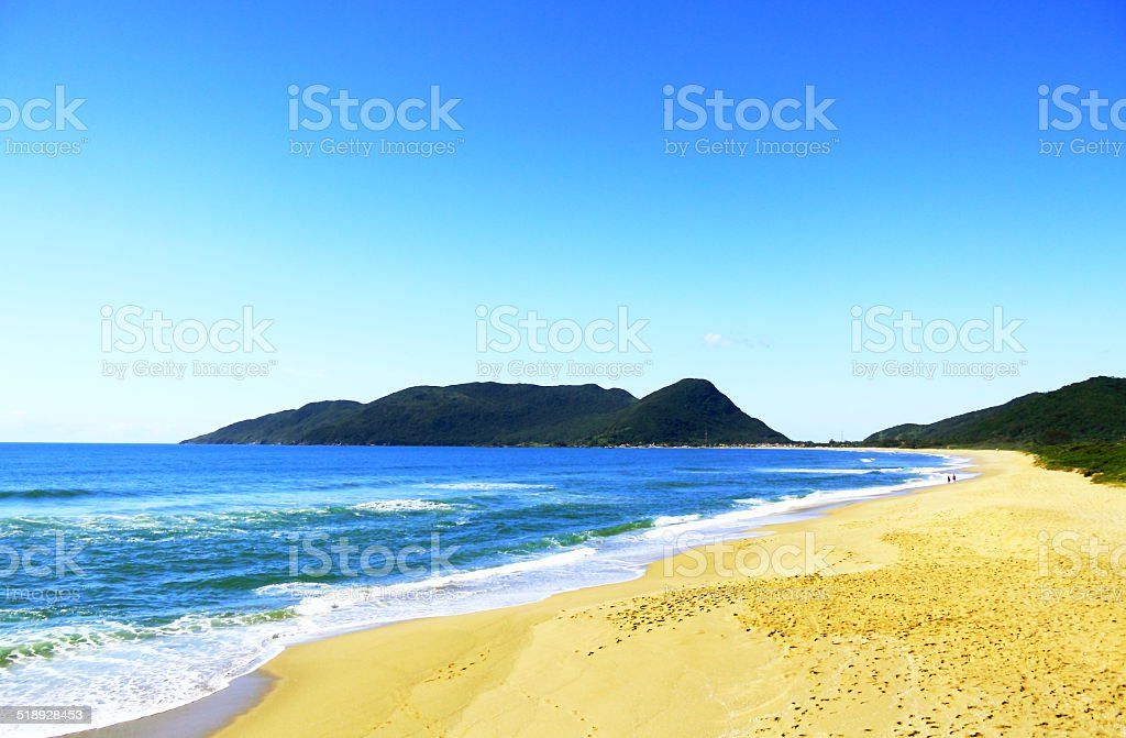 Paradise is almost empty yet. stock photo