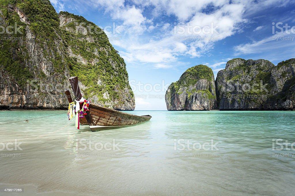 Paradise islands royalty-free stock photo