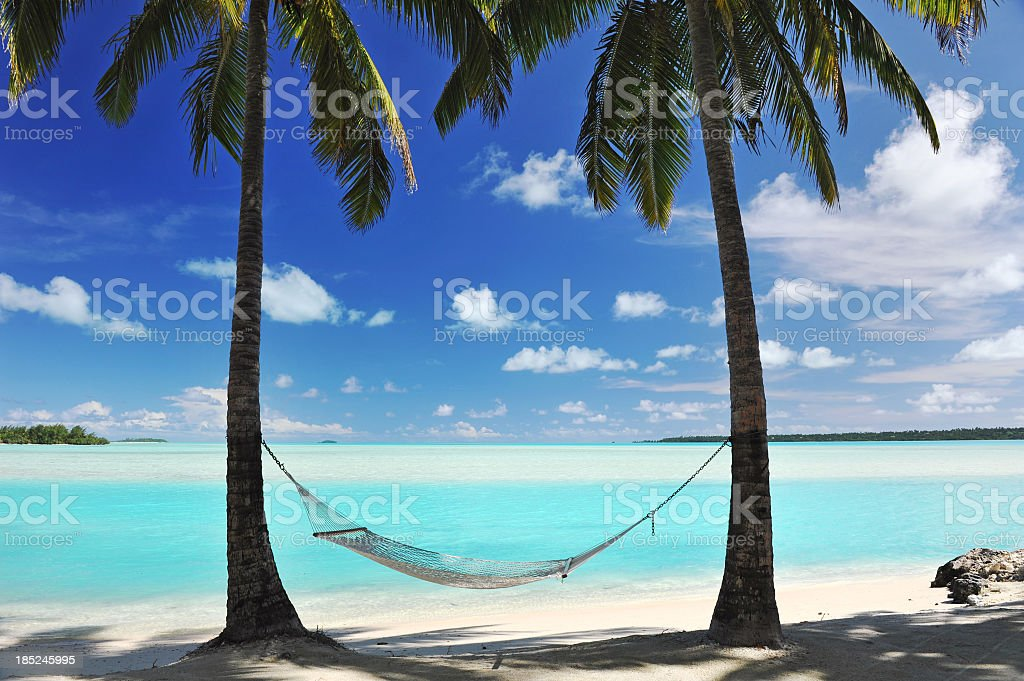 Paradise Lagoon stock photo