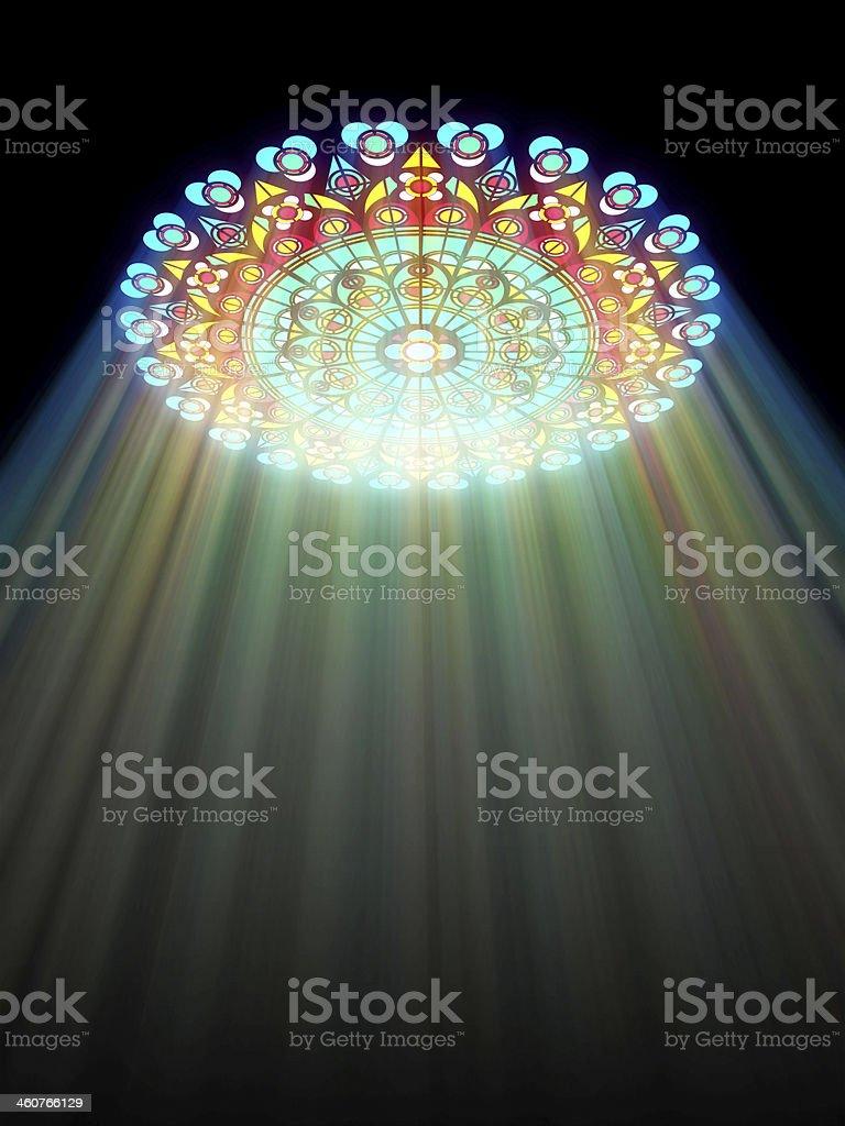 paradise light stock photo