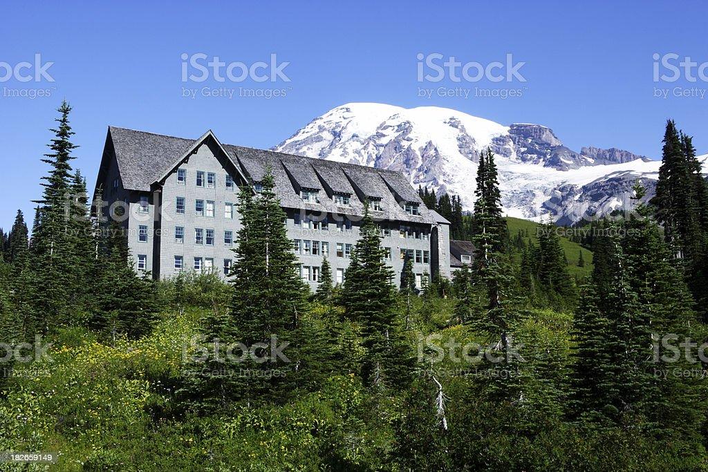 Paradise Lodge royalty-free stock photo