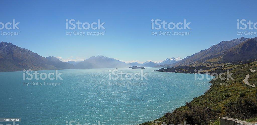 Paradise, New Zealand stock photo