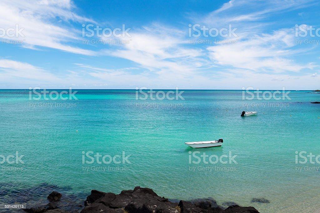 Paradise ocean stock photo