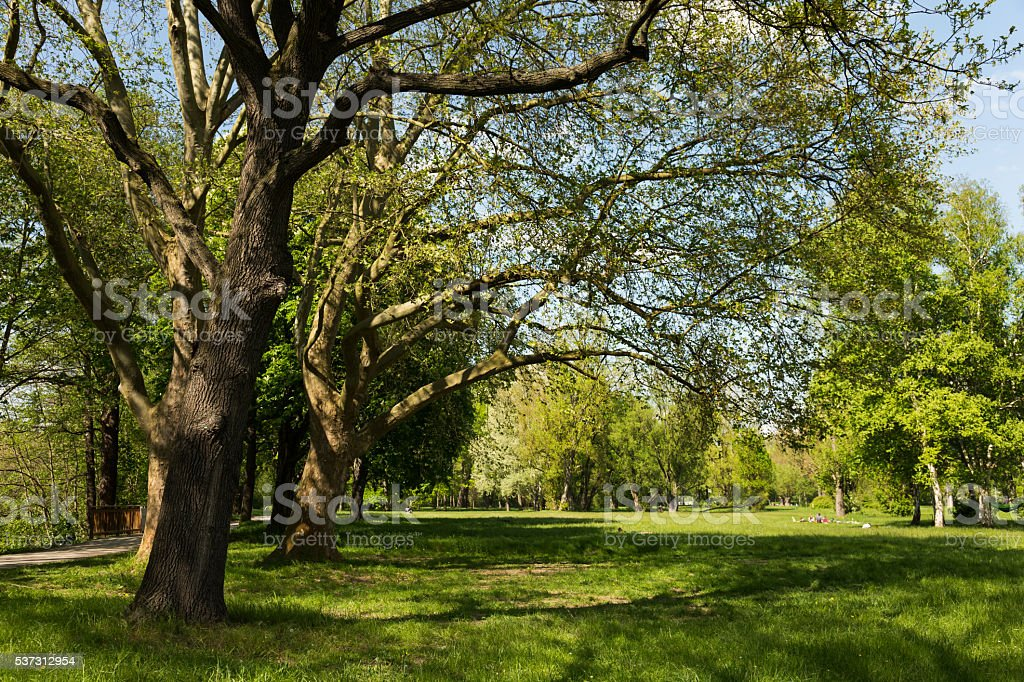 Paradise Park Jena stock photo