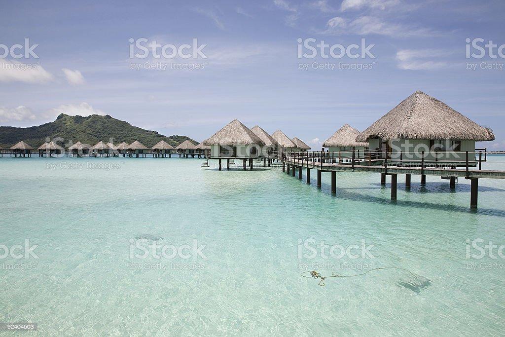 Paradise royalty-free stock photo