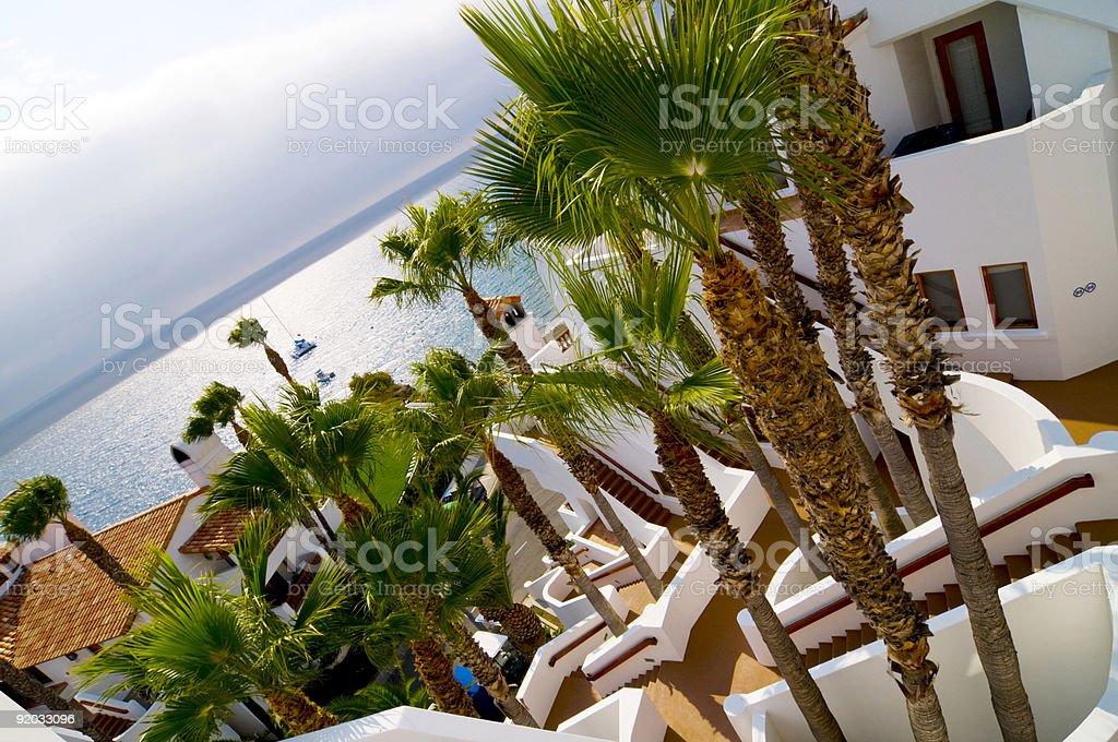 Paradise Resort royalty-free stock photo