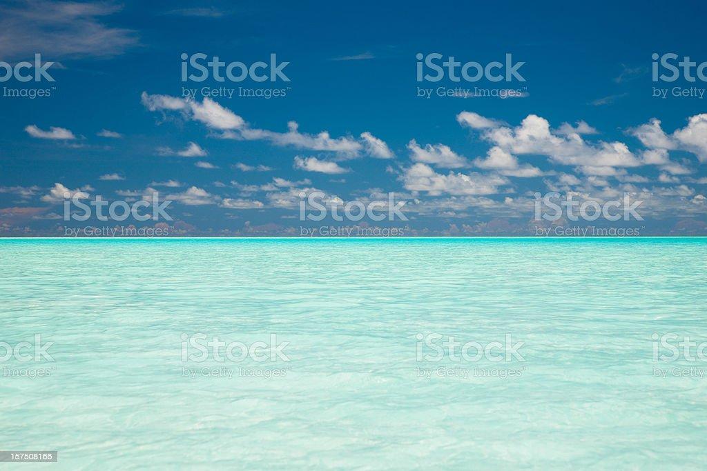 Paradise Sea royalty-free stock photo