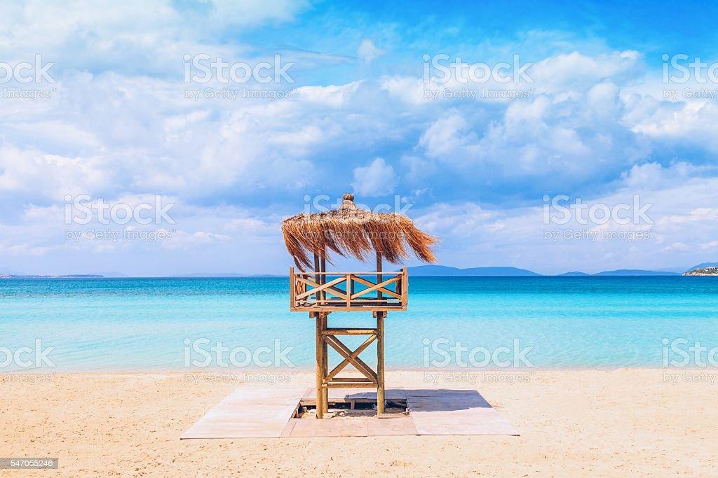 Paradise - Tropical Beach stock photo