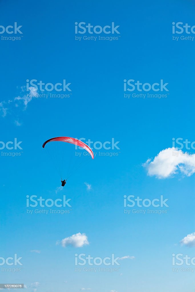 Paraglide Portrait royalty-free stock photo