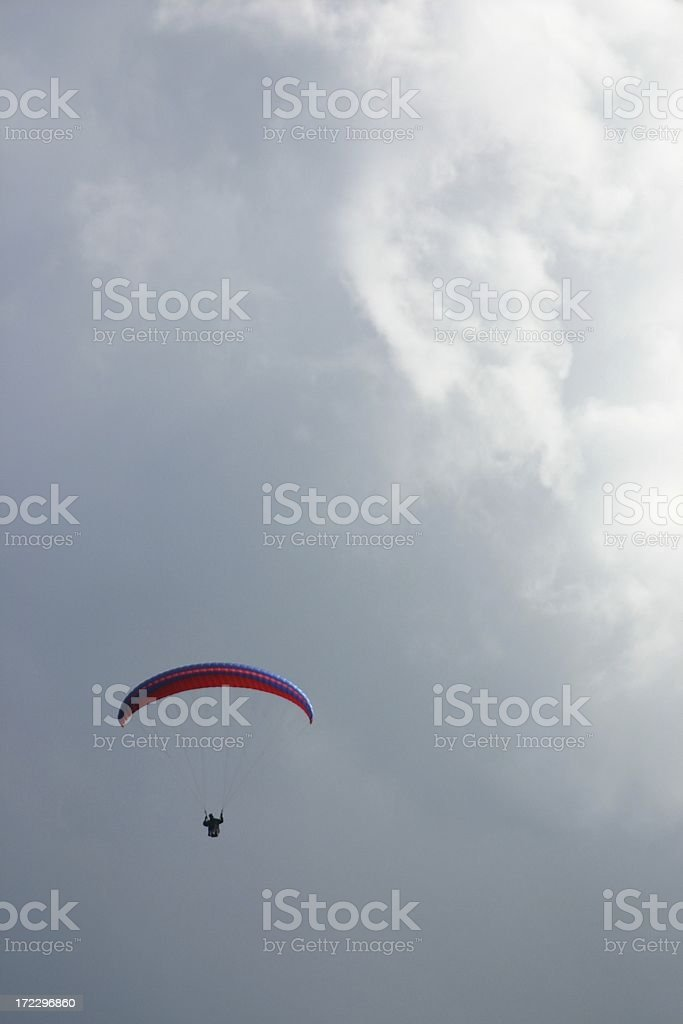Paraglide01 stock photo