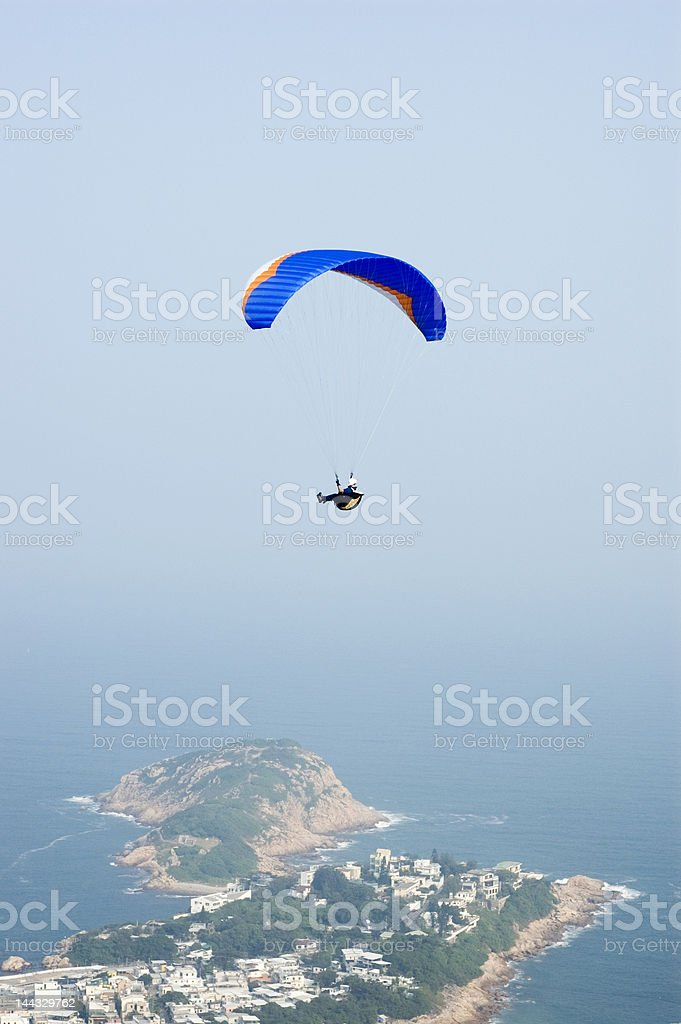 paraglider 2 royalty-free stock photo