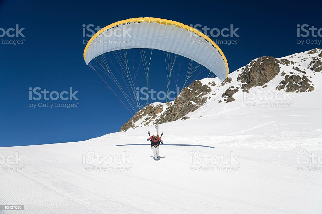 paraglider royalty-free stock photo