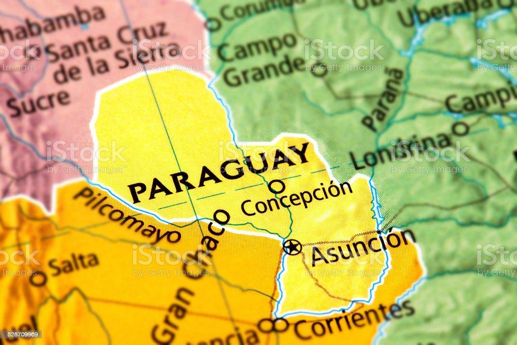 Paraguay stock photo