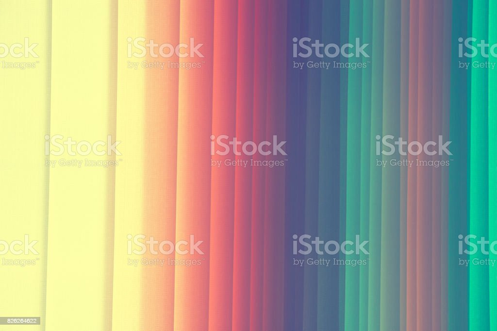 Parallel plates of a roller shutter as a background. stock photo