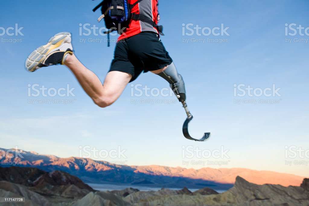 Paralympics stock photo