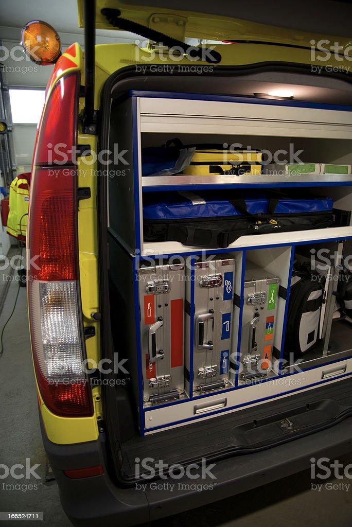 Paramedic vehicle royalty-free stock photo