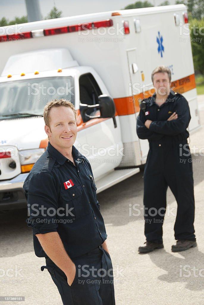 Paramedics royalty-free stock photo