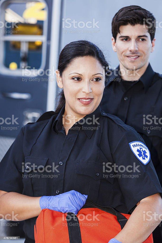 Paramedics stock photo