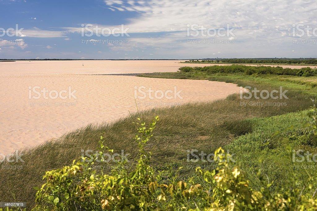 Paran? River stock photo