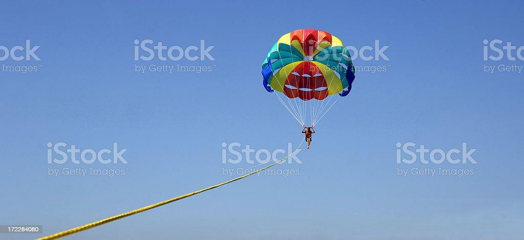 Parasail stock photo