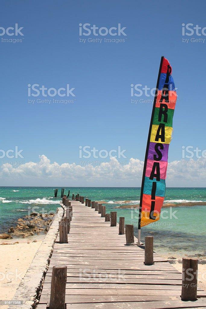 parasail royalty-free stock photo