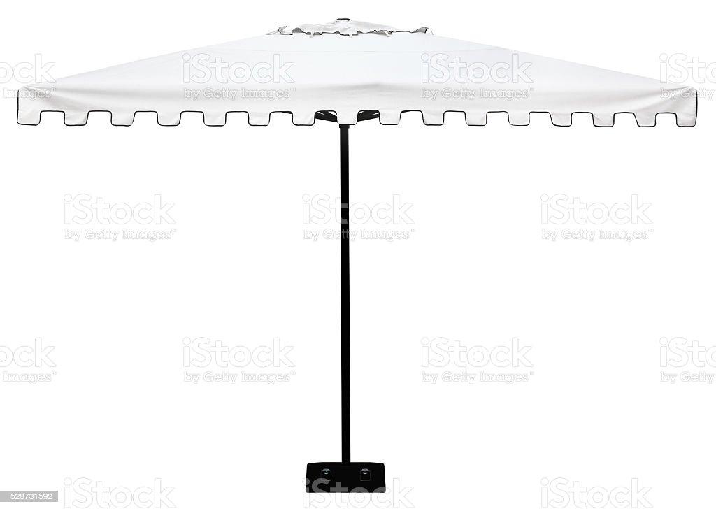 Parasol or umbrella isolated on white background stock photo
