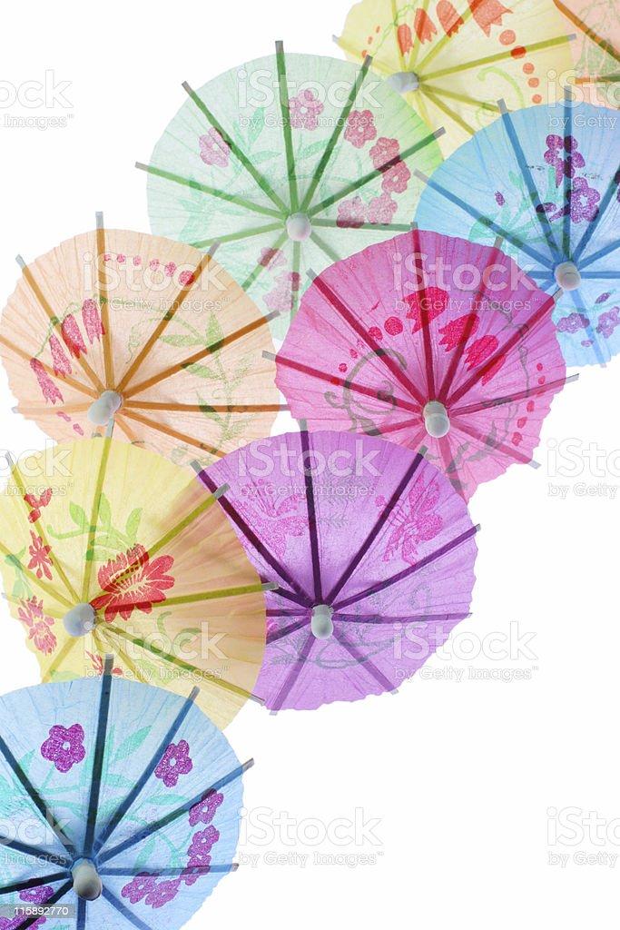 parasols royalty-free stock photo