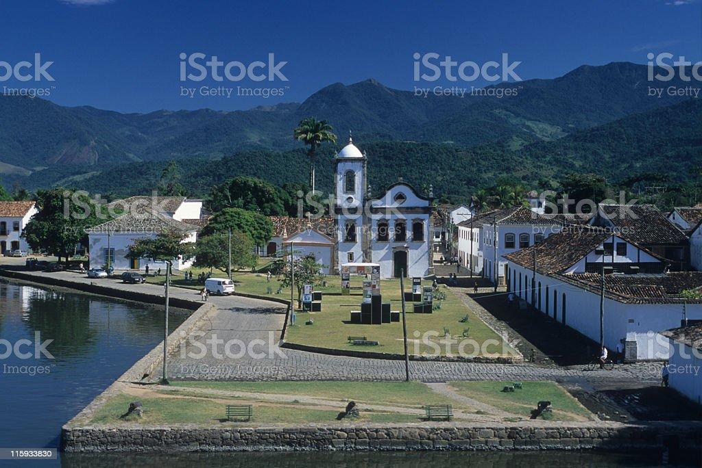 Paraty city royalty-free stock photo