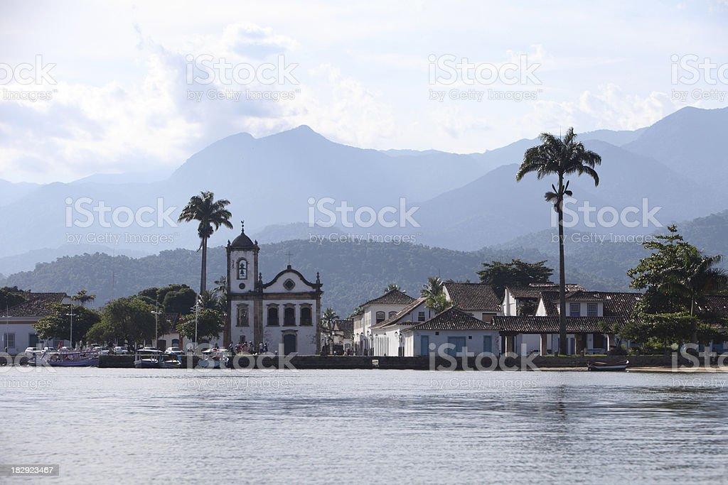 Paraty Village, Brazil stock photo