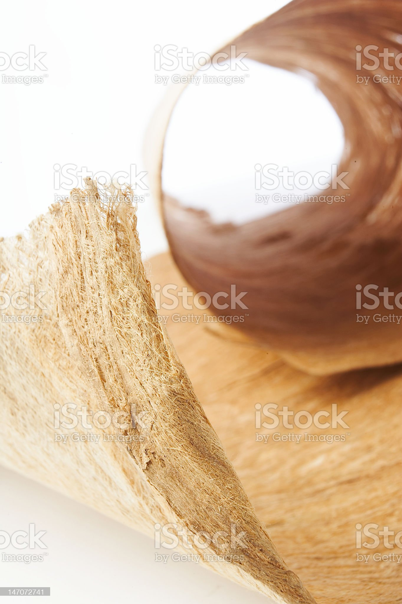 Parcel sacking textyred royalty-free stock photo
