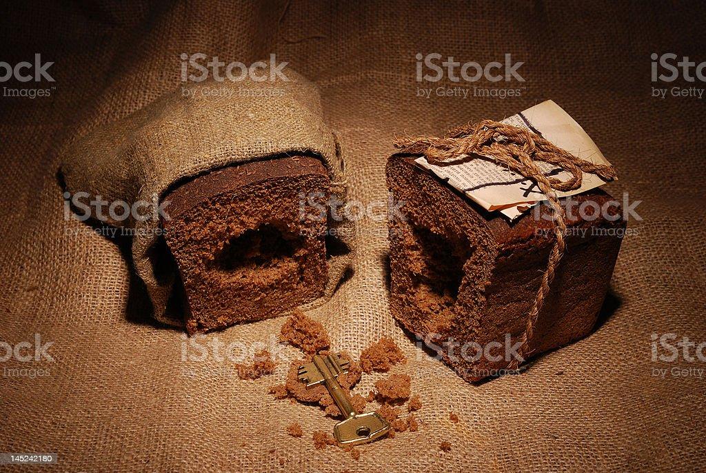 parcel to prisoner royalty-free stock photo