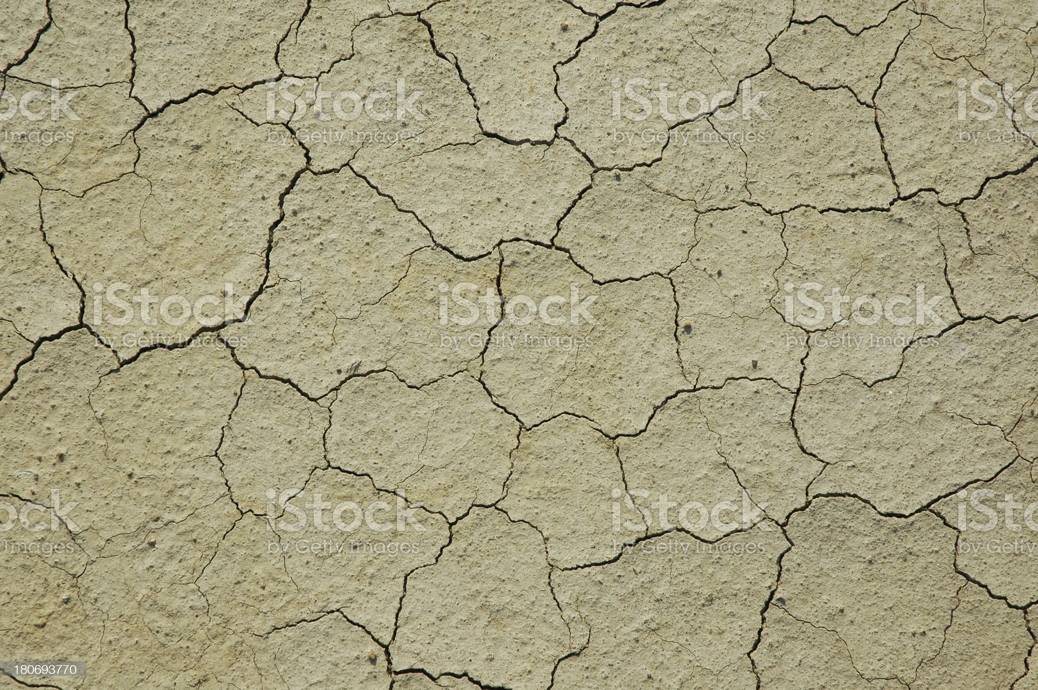 Parched Earth - Soil Conservation, Drought, Erosion royalty-free stock photo