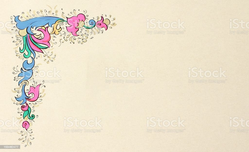 parchment design royalty-free stock photo