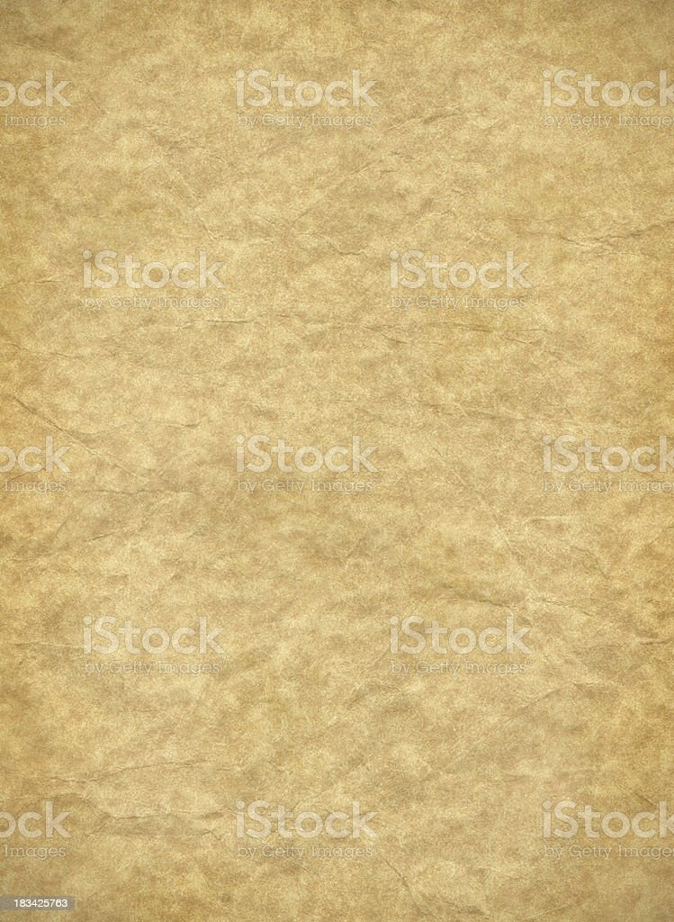 Parchment paper texture stock photo