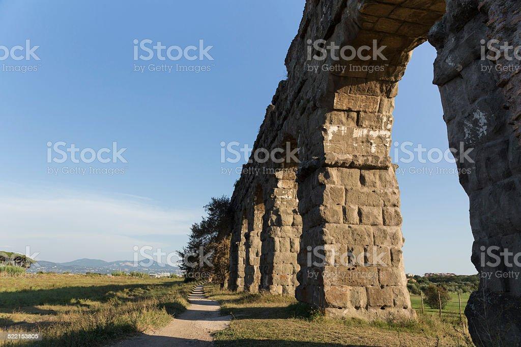 Parco degli acquedotti stock photo